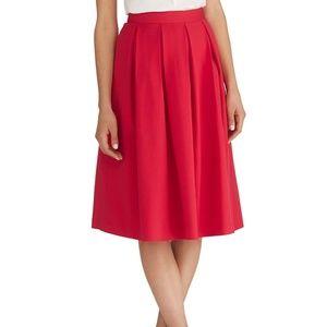 NWT WHBM Full Midi Skirt w/ Pockets! Size 10